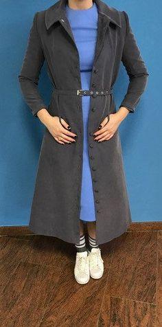 Coat dress in Grey van BYMPM op Etsy