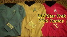Star Trek: DIY Starfleet Tunics