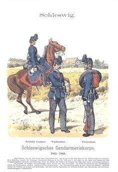 Band XIV #60.- Schleswigsches Gendarmeriekorps 1864-66.