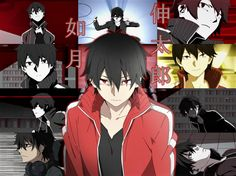 Shinatro Kisaragi collage (Mekakucity Actors).