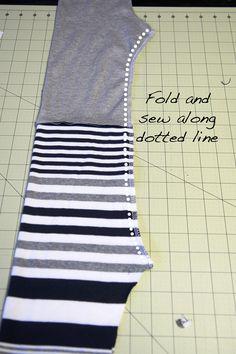Reversible Knit Pants || Free Baby Pants Pattern