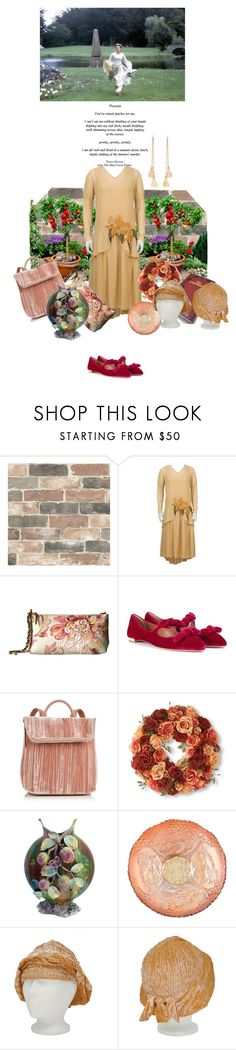 """The Dogs I Have Kissed"" by amanda-anda-panda ❤ liked on Polyvore featuring Wall Pops!, Elliott Lucca, Aquazzura, Whistles, National Tree Company and Ben-Amun"
