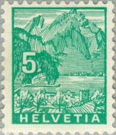 Pilatus Mountain viewed from Stansstad