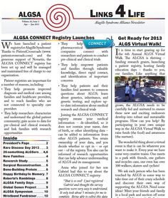 Get the latest issue of our newsletter - Links4Life - now at http://www.alagille.org.