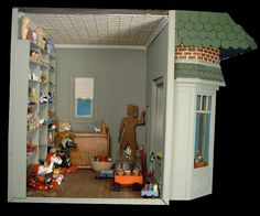Room Box Number 14 - Toy Shop