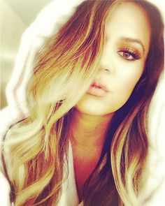 Kloe k ! Obsessed!  Want her ombre hair!