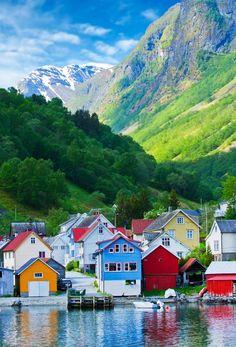¿Donde se quieren perder? Un rinconcito mágico en #Noruega (#Fiordo Geirangerfjord) #EstilodeVidaBlogazzine #travel #aventura #vacaciones