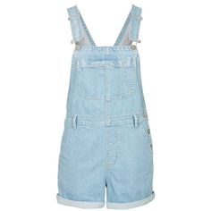Topshop Moto Short Overalls found on Polyvore
