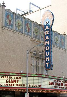 I saw Damien Rice here by myself my junior year of HS.. bet youre jealous now!  Texas Paramount Theatre, Austin, TX.