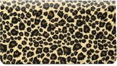 Leopard Print Cloth Checkbook Cover by Buy Cheap Checks. $18.95. Leopard Print Cloth Checkbook Cover - This checkbook cover has six built-in slots for your credit cards, and a window slot for a picture ID. This quality cloth checkbook cover is designed for top tear personal checks.