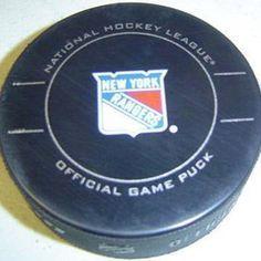 New York Rangers Team Puck