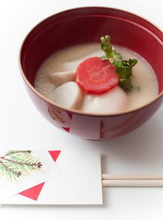 Ozoni: A Traditional Japanese Soup Containing Mochi / Tokyo Pic
