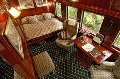A Royal Suite on board the train. Rovos Rail