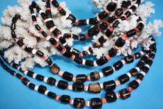 @@@BlackCoral4you Black-Brown Coral-Spondylus and Sterling Silver / Coral Negro-Marron-Spondylus y Plata de Ley