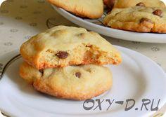 Американское печенье с шоколадными шариками - рецепт