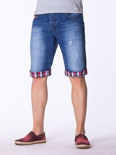 Blugi pentru barbati scurti Tony Copper 02 Bermuda Shorts, Denim Shorts, Design, Women, Fashion, Moda, Fashion Styles, Fashion Illustrations