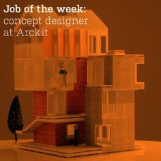Job of the week: concept designer and illustrator at Arckit