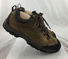 dc89e7cbba0 Timberland Low Hiking Shoes Brown Leather Waterproof Size 13 M EUR 47.5