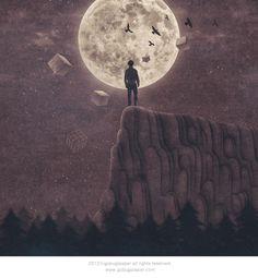 gobugi_illust :: super moon