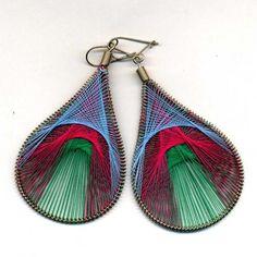 Thread Earrings neat shape