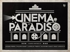 Image result for cinema paradiso minimal poster