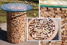 Wine Cork Bistro Table