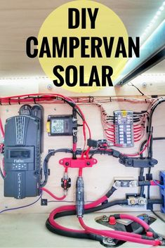 825 Watts of DIY Solar for our Camper Van Life makes working from the road possible for...