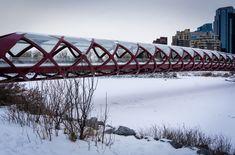 Peace Bridge Canadian Nature, Calgary, Bridge, Peace, Landscape, Travel, Scenery, Viajes, Bro