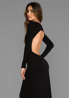 Long Sleeve Open Maxi Dress... i love this so much