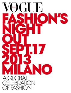 Milano, 17th sept 2013 - Vogue Fashion's Night Out... anche in via Spadari