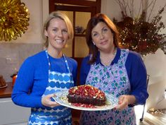Sticky Ginger Cake with Clementine Icing by Signe Johansen (on Kirstie's Handmade Christmas, Channel 4 2014)