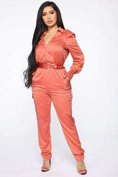 Fashion Nova has jumpsuits and rompers arriving daily. Check out black, white, striped, and bright new one-piece styles every single day. Jean Sandals, Janet Guzman, Fashion Nova Models, Nova Jeans, Marsala, Cut And Style, Elastic Waist, Collars, Taupe
