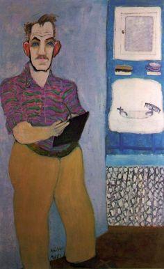 "milton avery | Milton Avery (1885, Altmar - 1965, New York), ""Autoritratto ..."