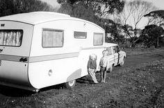 Australian vintage caravan