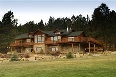 Great lodge style rental home in the Bitterroot Valley of Western Montana! Open calendar - www.bitterrootcabins.com