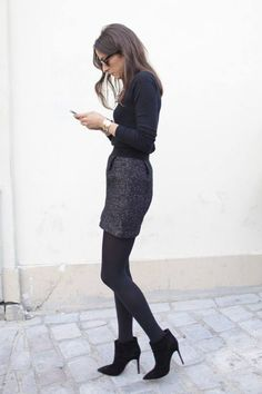 Love this! Gotta wear this style in autumn