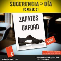 Zapatos Oxford Forever 21