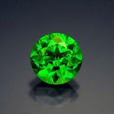 A 4.5-carat demantoid garnet from Russia.