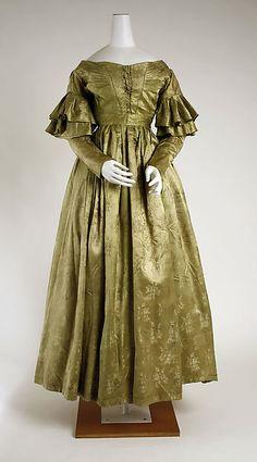 Dress Date: 1837–39 Culture: American Medium: silk Accession Number: 1979.346.67