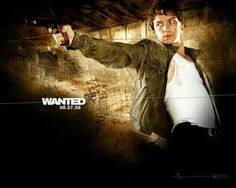Wesley - Wanted. James McAvoy