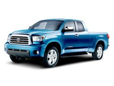Toyota Tundra in BLUE