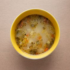 Chicken, Kale, and Brown Rice Soup - Recipes - GBD Healthy Times