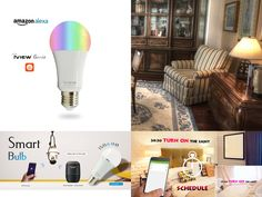 High Demand, Multi-Color Smart Light Bulb Back in Stock. Available at Home Depot and Amazon. EASY Set-up and app control. Compatible with Amazon Echo and Google Home. #iVIEW #smartbulb #googlehome #Amazonecho App Control, Home Gadgets, Google Home, Amazon Echo, Home Depot, Marathon, Light Bulb, Computers, Electronics