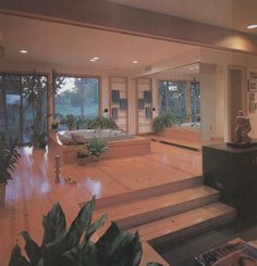 "palmandlaser: ""From Rodale's Home Design Series: Baths "" Future House, 80s Interior Design, 1980s Interior, 80s Design, Art Deco, Vintage Interiors, Retro Home, House Goals, Interiores Design"