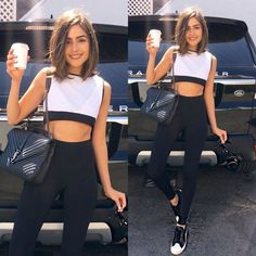 You won't believe where Olivia Culpo got her outfit from! Get all the details via Cabelo Olivia Culpo, Olivia Culpo Hair, Pelo Popular, Medium Hair Styles, Curly Hair Styles, Mode Outfits, Looks Style, Cut And Color, Pretty Hairstyles