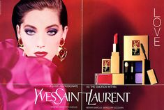 Lucie de la Falaise for Yves Saint Laurent - 1991