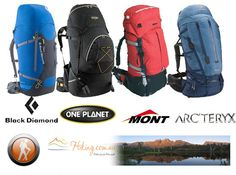 Whatever the activity whether going out for a quick ride round the local trails, trekking in New Zealand or sightseeing in Europe a pack is crucial for carrying all your essentials.  Hiking.com.au has packs from One Planet, Arc'teryx, Camelbak, Mont, Osprey, Black Wolf, Lowe Alpine and other brands at great prices.