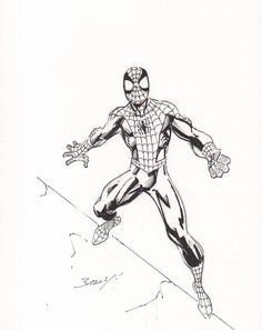 Spider Man by Mark Bagley