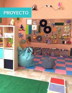 ¿Cómo crear una  sala sensorial? Ideas Hop'Toys