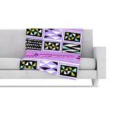 Found it at Wayfair - American Blanket Pattern II Fleece Throw Blanket #sale! #orchid #violet #native #geometric #ethnic #art on #fleece #blankets forv#home #decor #gift by Vikki Salmela on #wayfair at #Kess InHouse.